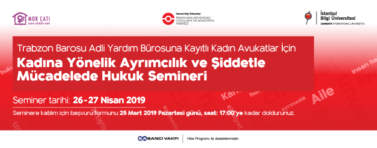 Seminar for Lawyers in Trabzon: